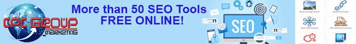 More than 50 Free Seo Tools on line for your website!